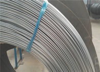 Outer Diameter 4.6mm Steel Bundy Tube , Round Zinc Coated Mild Steel Tube
